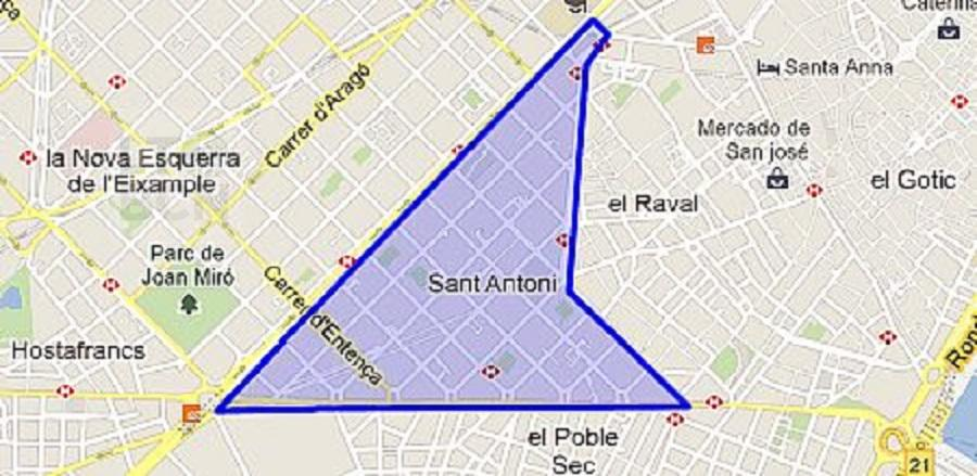 Lt 396 C2 Con Terraza Sant Antoni Lt Barcelona